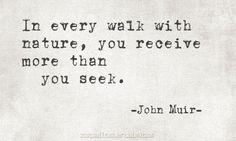 John Muir - nature
