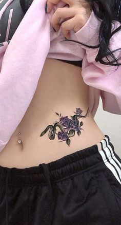 Feed your ink addiction with 50 of the most beautiful rose tattoo designs for men . - Feed your ink addiction with 50 of the most beautiful rose tattoo designs for men and women – Fee - Hot Tattoos, Finger Tattoos, Body Art Tattoos, Sleeve Tattoos, Tattoos For Guys, Tattoos For Women, Tattoo Women, Tatoos, Sexy Female Tattoos