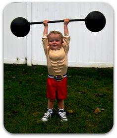 TryItMom: An Easier DIY Toddler Strong Man Costume