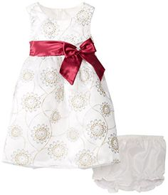 Nannette Baby-Girls Infant 2 Piece Satin Floral Mesh Dress with Panty, White, 12 Months Nannette http://www.amazon.com/dp/B00E0HXAX8/ref=cm_sw_r_pi_dp_cSy0ub1P2Y5YJ