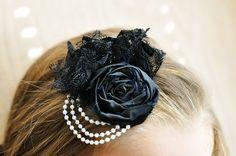 Pearls & Lace Rosette Fascinator Tutorial