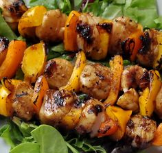 Ginger Grilled Scallops - so easy to make with the delicious ginger ...