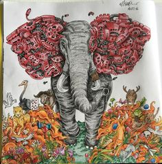 Enjoyed it so much @kerbyrosanes #kerbyrosanes #elephant #imagimorphia…