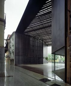 Public theatre  Ripoll, Girona, Spain  by RCR Arquitectes