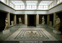 The Kos Archaeological Museum hosts exhibits from the Archaic period to the late Roman Years. Kos, Ancient Beauty, Greece Travel, Crete, Greek Islands, Planet Earth, Travel Guide, Places Ive Been, Beautiful Places