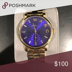 Marc by Marc jacobs watch Barely use. Excellent condition Marc by Marc Jacobs Jewelry