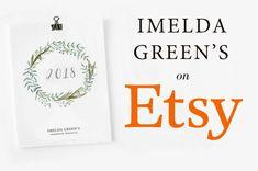 Imelda Green's on Etsy