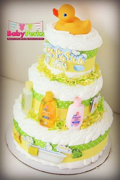 PLEASE READ SHOP ANNOUNCEMENT BEFORE PLACING YOUR ORDER ANY QUESTIONS FEEL FREE TO CONTACT ME Listing is for 3 layer diaper cake { Which will be made
