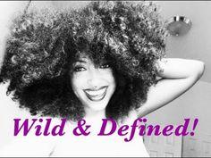 "Wild & DEFINED Curls Using ""Curly Twirls"""