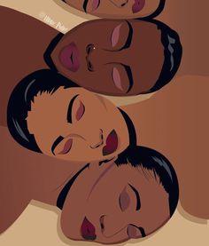 Drawings People Image of My Melanin Matters - Black Girl Art, Black Women Art, Art Girl, Art Women, Black Girls, African American Art, African Art, Image Blog, Black Art Pictures