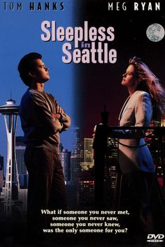 Sleepless in Seattle (DVD, Special Edition Closed Caption) for sale online Top Romantic Comedies, Best Romantic Movies, Movies Worth Watching, Movies Playing, Film Music Books, Music Tv, Music Stuff, Love Movie, I Movie