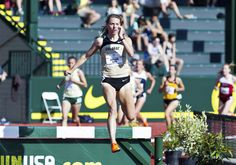 Steeplechase runner Shalaya Kipp is a Skyline High School grad who now runs for Colorado and hopes to qualify for the London Olympics at the upcoming U.S. Olympic Trials in Eugene, Ore. Courtesy University of Colorado