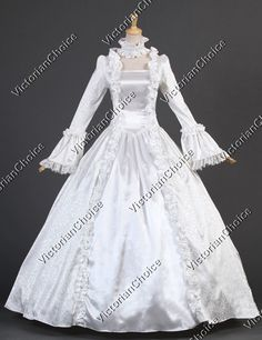 victorian wedding pictures | Victorian Gothic Cosplay Satin Wedding Dress Ball Gown Prom ...
