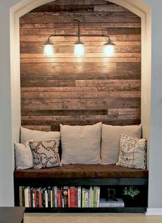 I love this little Book Nook!