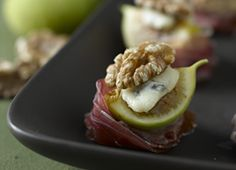 Fig and Walnut Amuse-Bouche | Recipes | Eat Well | Best Health