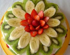 >> 50 Pictures of Unique and Creative Food Recipes - Web Delicious Decoration Patisserie, Food Decoration, Fruit Recipes, Dessert Recipes, Party Recipes, Fruit Dessert, Banana Recipes, Cute Food, Yummy Food