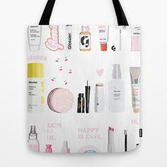 The Glossier Top Shelf Tote Bag