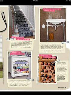 crazy for that stair runner!