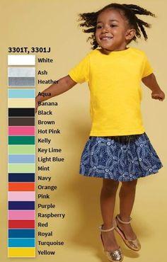 Rabbit Skins RS3301 5.5 oz Toddler Jersey Short Sleeve T Shirt