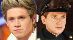Allen Leech from Downton Abbey and Niall Horan!!!! Crazy how much they look alike!