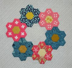 Sadie's Sampler- Block 36, Inchy Hexagons
