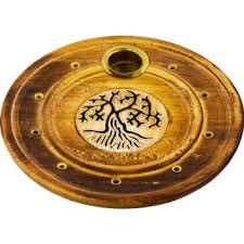 Wicca Supplies, Pagan Supplies, Witchcraft Supplies, Spiritual Supplies - New Awakening - Tree of Life Incense and Cone Holder, $6.25 (http://www.wiccasupplies.ca/tree-of-life-incense-and-cone-holder/)