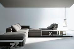 Divano modulare Grafo MDFItalia _ da www.spaziomateriae.com Napoli  Modular Grafo sofa by MDFItalia  Grafo è un divano che trasmette essenzialità e purezza combinati ad una indiscussa morbidezza. Dotato di tre tavolini permette infinite combinazioni. Scoprine tutte le qualità.