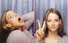 Jodie Foster photo booth