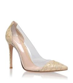 Gianvito Rossi Calabria Lace Court available to buy at Harrods. Shop designer women's shoes online and earn Rewards points.