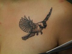 chickadee tattoo | Tumblr