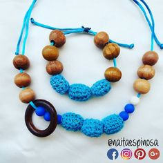 Collar de lactancia-porteo en tonos azules  . #TalentoVenezolano #Mama #Bebe  #HechoaMano  #Lactancia #Lactanciamaterna #Lactanciaexclusiva #Mamaprimeriza #Collardelactancia #Collaresdelactancia #Collar #Collarmordedor  #Motricidadfina #Crochet #Breastfeeding #Mom #Baby #TeethingNecklace #Necklace #HandMade #Instamom #Collarporteo collar de lactancia  collares de lactancia #NaitaEspinosa @naitaespinosa Naita Espinosa #azul #blue