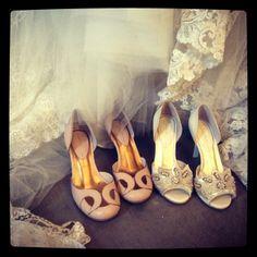 Juliana Bicudo's Bridal Shoes @ Atelier Carla Gaspar <3