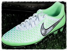 Womens Nike Magista Ola FG Soccer Cleats (Size 7, 9, 9.5) Green Mint/Black/White #Nike
