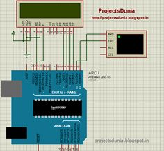 circuit for receiving the serial data from arduino