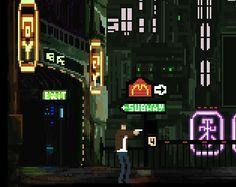 Tribute to Flashback & Blade Runner