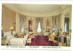 The Breakers   Newport, RI. The bedroom of Mrs. Cornelius Vanderbilt II (nee Alice Claypoole Gwynn).