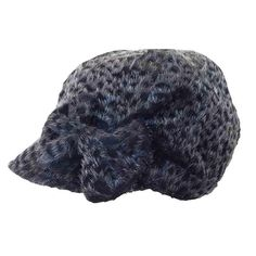 202862810b7 Shaggy Jockey Cap with Bow by JSA. Caps For WomenShaggyWinter Hats