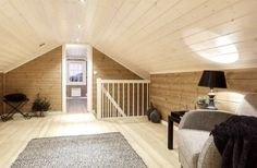 Attic Ideas, Loft Ideas, Cabin Ideas, Winter Lodge, Attic Bedroom Small, Finished Attic, Little Houses, Modern Rustic, Home Projects