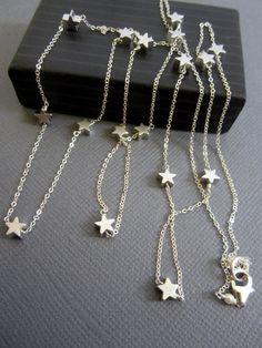 Halskette Sterne des Lehrers Halskette Geschenk für von Muse411