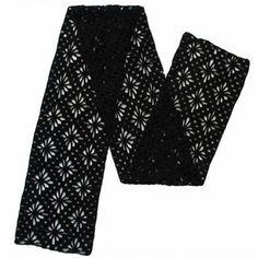 Jojoland Crochet Cashmere Scarf Pattern 2-101 | Knitting and Crochet Patterns