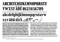 »Gulliver« font design.  © Nahuel Gerth, NGVK