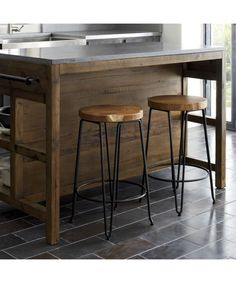 Shop Origin Backless Bar Stools.   When teak roots are unearthed for new plantings, they reveal their extraordinary size and intriguing shapes.  Such unique markings give each stool authenticity.