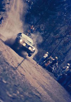Alfetta GTV, Castrol International Rally 1976. Caption this!