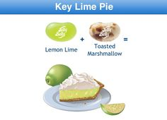 Key Lime Pie Jelly Belly Flavor Recipe Jelly Belly Flavors, Bean Recipes, Yummy Recipes, Ice Cream Cookies, Toasted Marshmallow, Key Lime Pie, Group Meals, Lemon Lime, Kittens