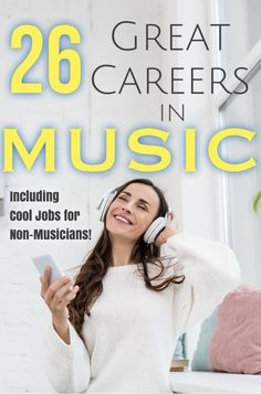 Whether you want to shine onstage or behind the scenes, you need to check out these cool career options. Jobs For Musicians, Music X, Music Lyrics, Guitar Classes, Learn Singing, Music Journal, Music Education, Learning Music, Creative Jobs