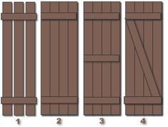 Factors to consider before building DIY wood shutters – Exterior Outdoor Shutters, Diy Shutters, Wooden Shutters Exterior, Houses With Shutters, Modern Shutters, Cedar Shutters, Black Shutters, Farmhouse Shutters, Cottage Shutters