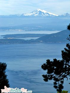 PICTORIAL: Moran State Park - The View From Mt Constitution, Orcas Island, WA