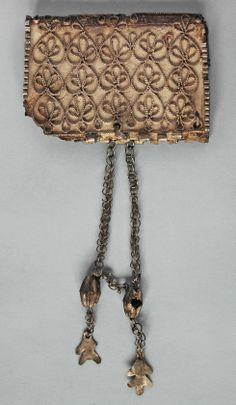 Czech Republic - West Slavs   Kaptorga - early medieval container for amulets and/or sacred herbs, worn around the neck.