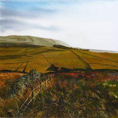 Pennine Moors rob edmondson art : Photo