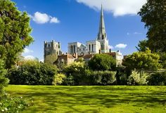 Chichester cathedral a gorgeous shot - and somehow so very English.